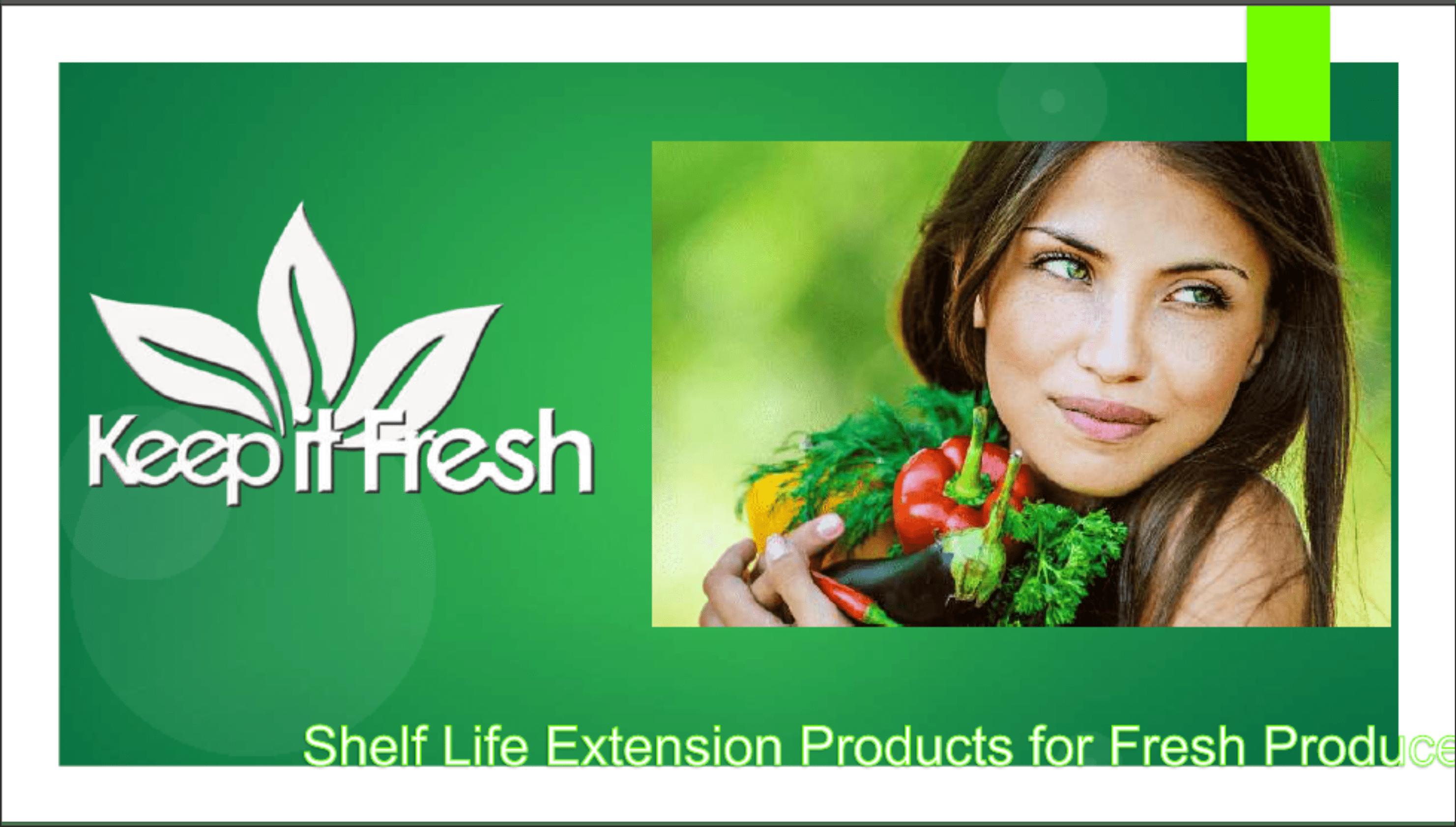 Keep-It-Fresh Presentation