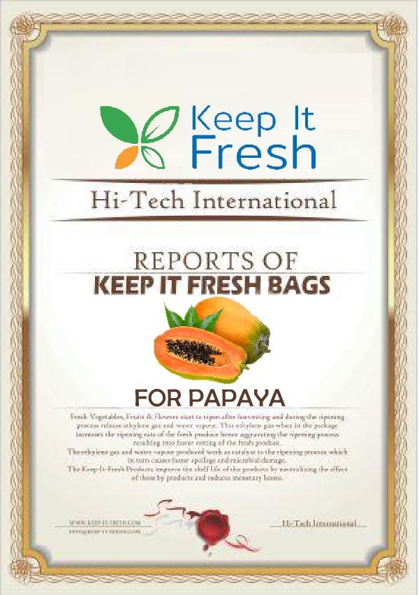 KIF Bags for Papaya