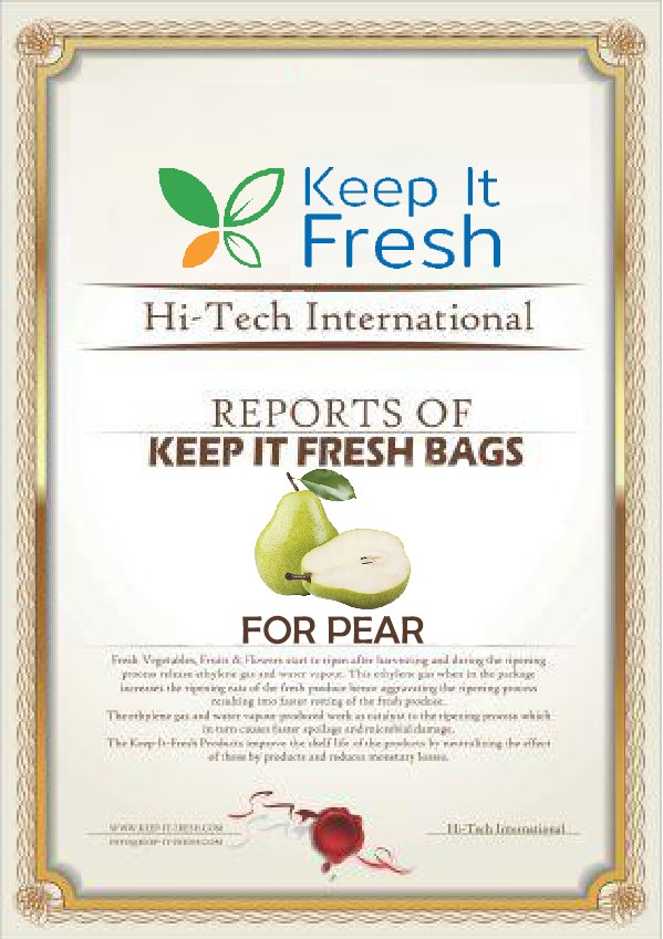 KIF Bags for Pear